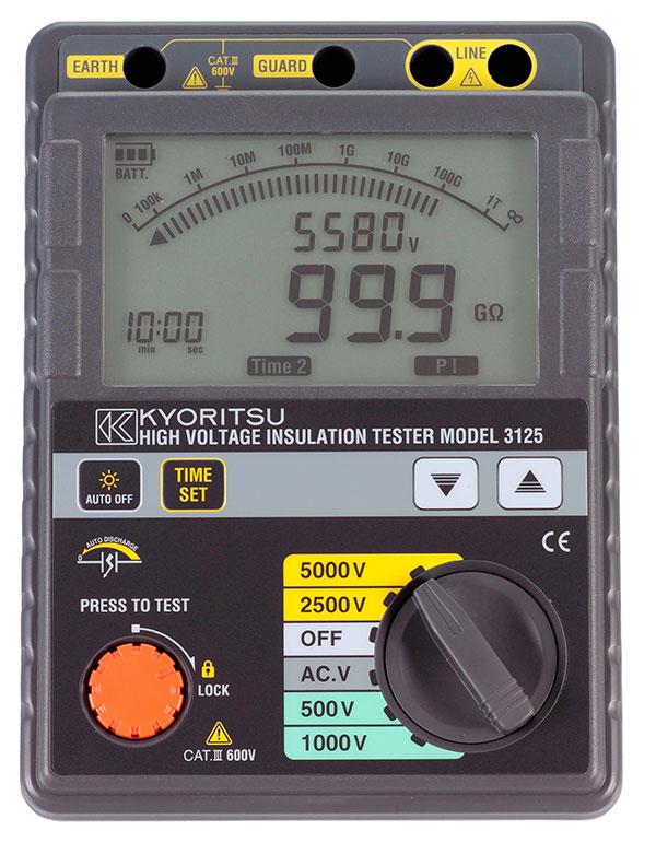 Insulation Tester 500v to 5000v