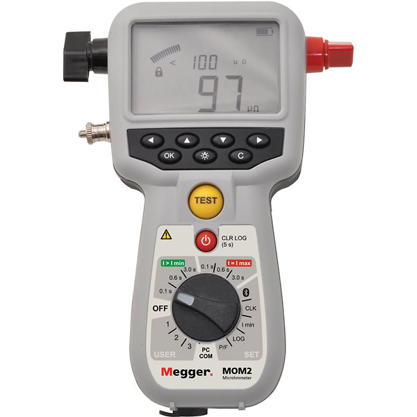 Megger BD 59090 MOM2 200A - Contact resistance tester