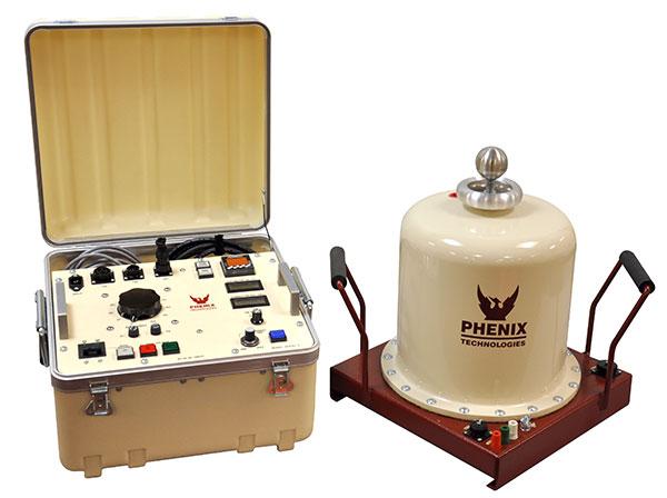 Phenix 650-2P HV AC pressure test